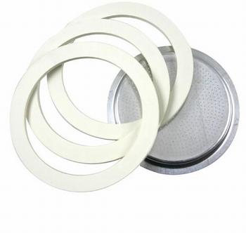 gummiringen + filter espresso -Bialetti