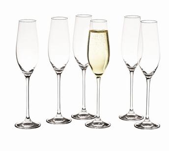 Cuvee verre à champagne set/6 - Salt&Pepper