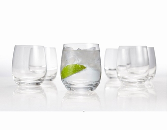 Cuvee drinkglas - whiskyglas set/6 - Salt&Pepper