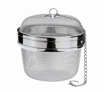 boule à thé ou herbes tamis inox infuseur 10,5cm-Kuchenprofi