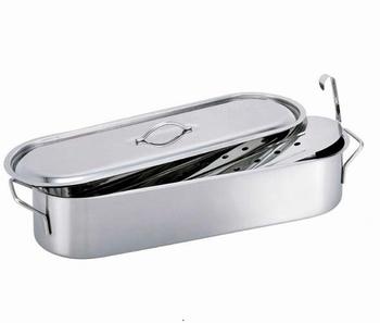 viskookpot met inzet 50 cm-Beka