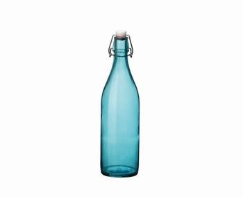 fles 1 L color - blauw