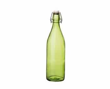 fles 1 L color - groen