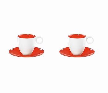 Colour it espressotas  - rood
