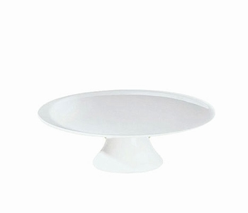 Grande taartschotel op voet wit - ASA
