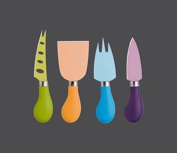 set couteaux à fromage color (4-pcs)-Zassenhaus