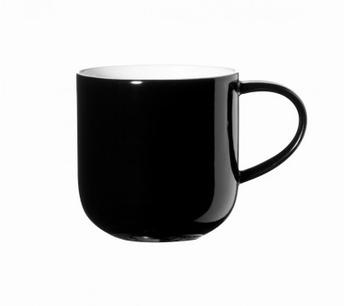 Coppa one tone beker - zwart