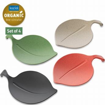 coupelles set/4  Leaf-on - Koziol