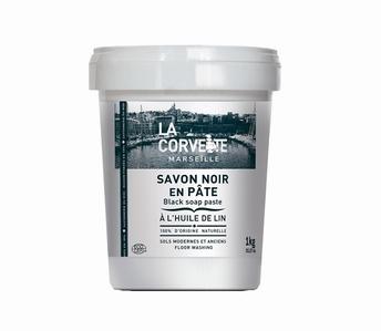 savon noir de Marseille en pâte 1 kg - La Corvette