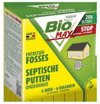 BioMax onderhoud septiche putten (26 zakjes)-Realco