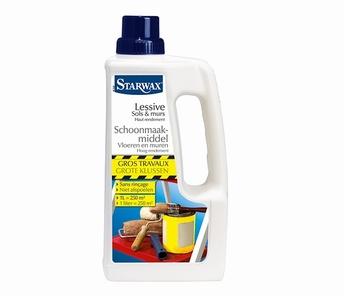 lessive sols et murs sans rinçage pour gros travaux-Starwax