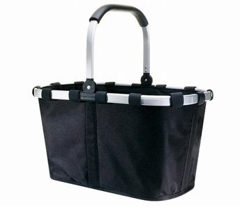 boodschappenmand Carrybag uni - zwart