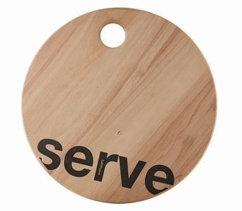 Loft planche à servir ronde Serve - Salt&Pepper