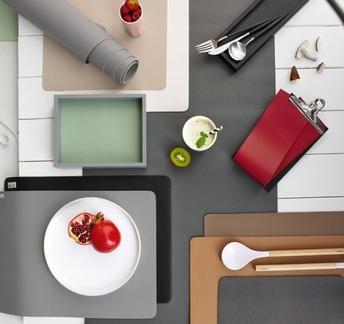 set de table aspect cuir - ASA
