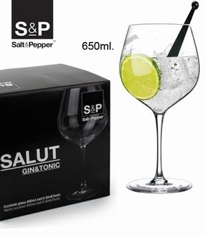 Cuvee gin tonic glazen set/4 - S&P
