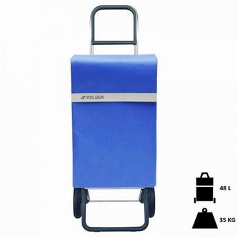 boodschappenwagen Jean Rolser- blauw