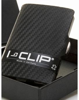 etuie porte-cartes carbone I-Clip