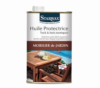 beschermende olie voor teak en exotisch hout - Starwax