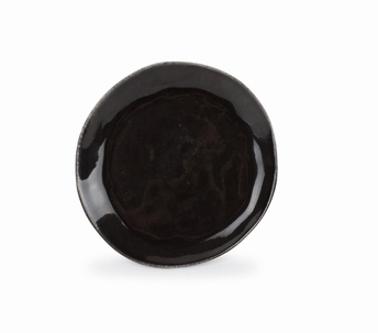 Artisan dessertbord - S&P - bruin zwart