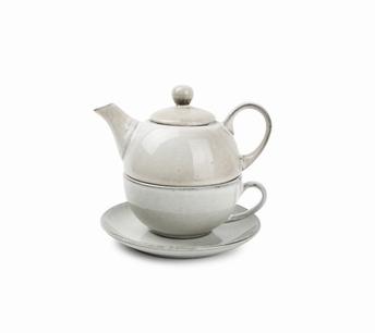 Artisan tea for one - S&P - olijfgroen