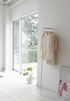 Support cintres blanc - Yamazaki