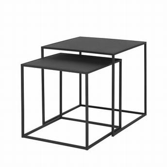 Ensemble de tables d'appoint noir set/2 - Blomus