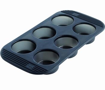 moule 6 muffins silicone-Mastrad