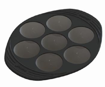 moule 7 melocakes/demi-sphères silicone-Mastrad