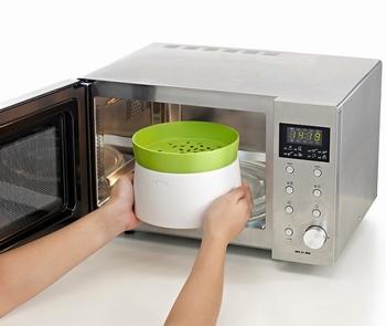 rijst- en graankoker microwave-Lekue