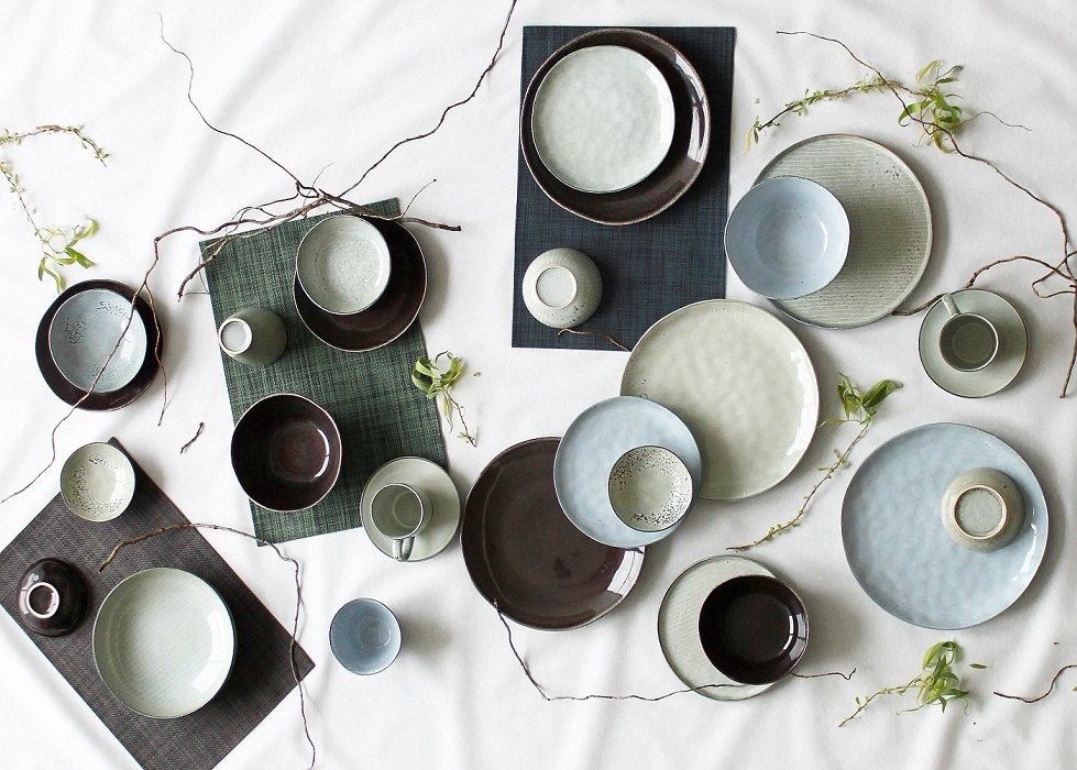 Artisan diep bord olive - S&P