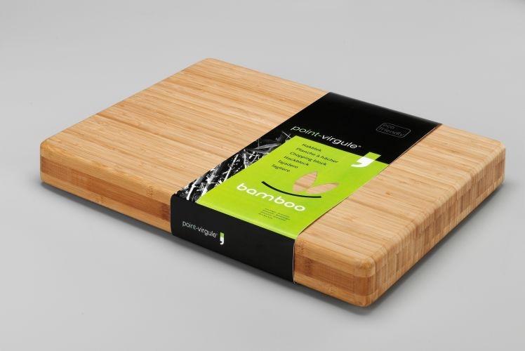 Bamboo hakblok-Point Virgule