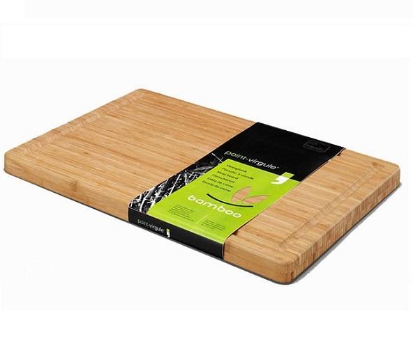 Bamboo snijplank/vleesplank 40 x 30 -Point Virgule