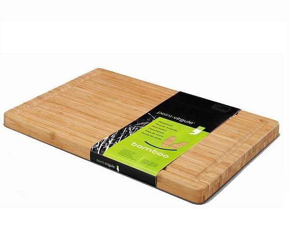 Bamboo snijplank/vleesplank 51 x 36-Point Virgule