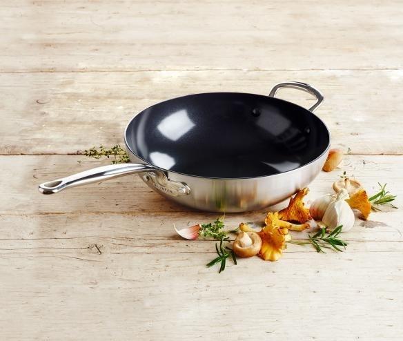 Barcelona keramische wok 30 cm - Greenpan