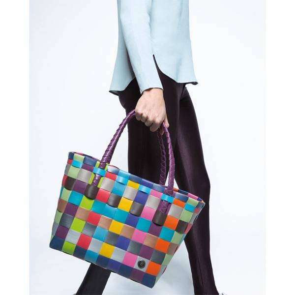 boodschappentas multicolor Paris - Handed By
