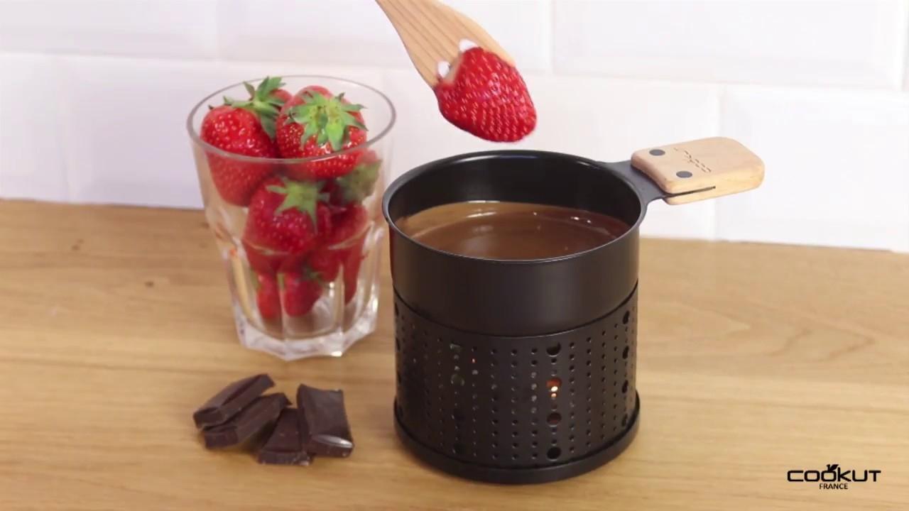 fondue au chocolat Lumic - Cookut