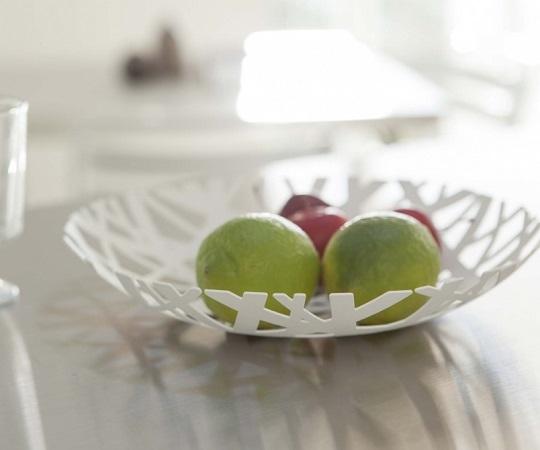 Coupe à fruits blanc - Yamazaki
