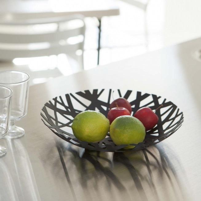 Coupe à fruits noir - Yamazaki