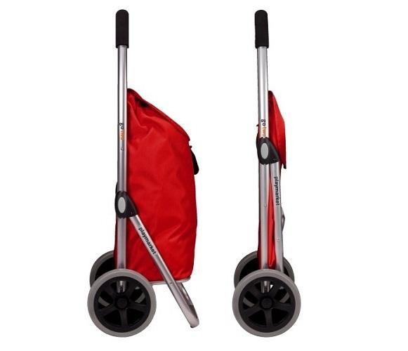 Go Two boodschappenwagen grijs  - Playmarket