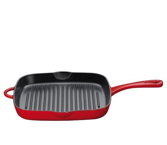 grillpan vierkant 26 cm-Kuchenprofi
