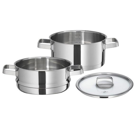 casserole à vapeur 20 cm-Kuchenprofi