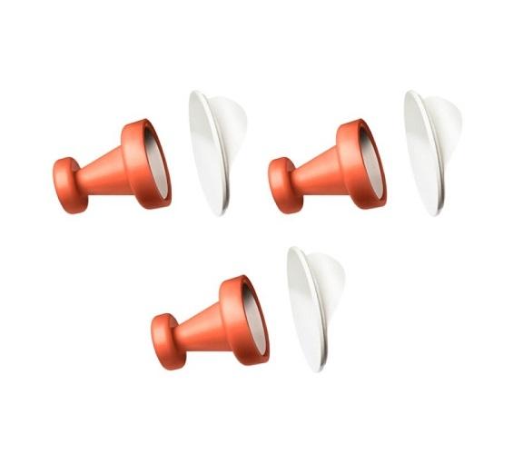 Patères magnétiques (set/3)-Reenberg's