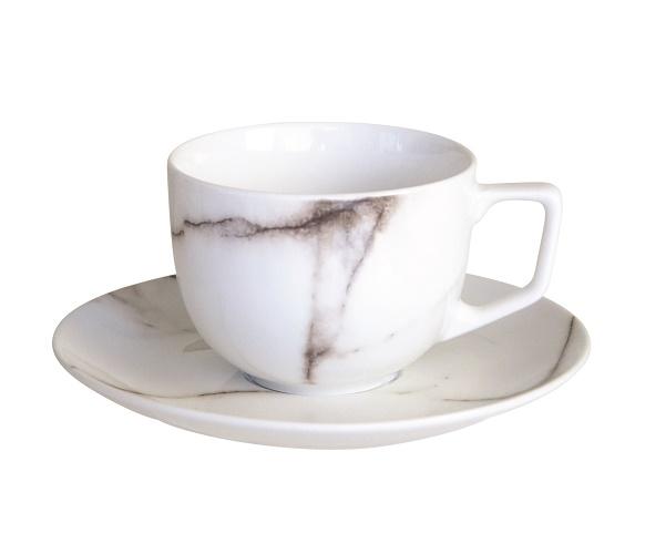 Marbre set (4 tasses à café/thé) - Salt&Pepper