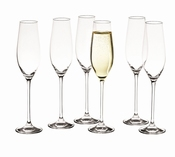Cuvee champagneglazen set/6 - Salt&Pepper