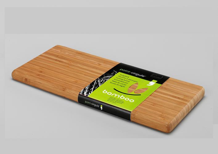 Bamboo snijplank/ontbijtplank 34 x16 -Point Virgule