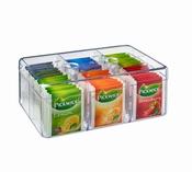 boîte à thé transparante-Kela