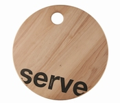 serveerplank Serve Loft - Salt&Pepper