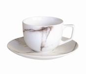 Marble set van 4 koffietassen - Salt&Pepper