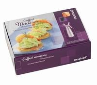 mousse- en crèmesifon geschenkset-Mastrad